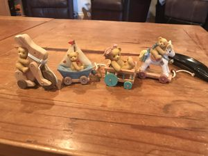 Set of 4 mini Cherished Teddies for Sale in Princeton, TX