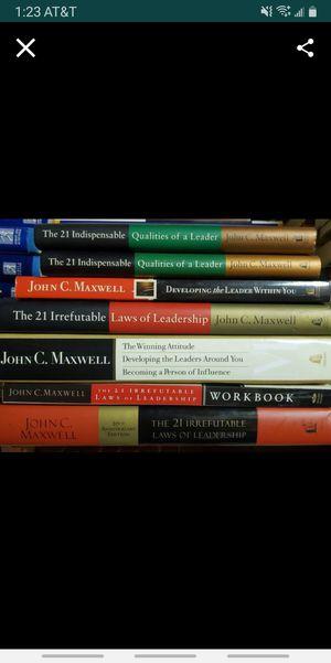 john maxwell books $7 - $20 each for Sale in Colton, CA