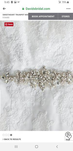Mermaid/trumpet style wedding dress for Sale in Ashburn, VA
