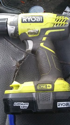 Ryobi drill with battery no charger included for Sale in Snohomish, WA