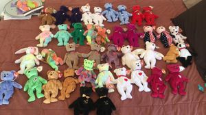 Numerous beanie babies for sale for Sale in Riverside, CA