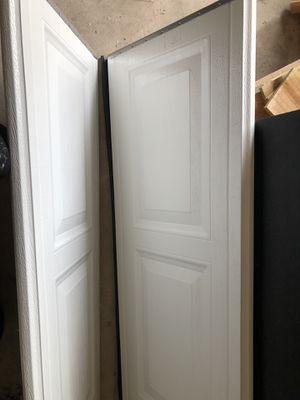 Garage door panel (2) for Sale in Burlington, NJ