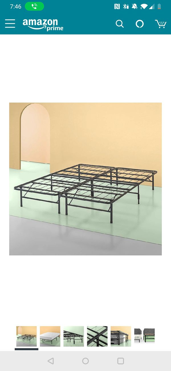Tuft And Needle Cal King Mattress With Zinus Bed Frame For