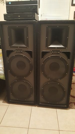 Pro Studio Mach 11 Speakers ONLY!!!! model PS402 for Sale in Jacksonville, FL