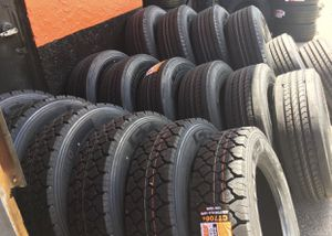 17.5 19.5 22.5 24.5 Drive Traction Trailer steer Haul tire tires for Sale in West Palm Beach, FL