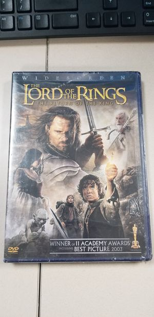 Lord of the rings return of the king sealed for Sale in Bakersfield, CA