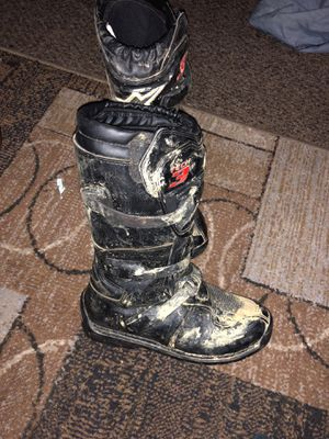 Alpine Dirt bike boots for Sale in Canonsburg, PA