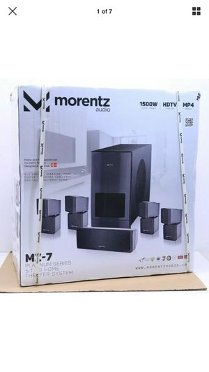 Morentz audio MZ-7 Platinum Series Theater System - Brand NEW for Sale in Humble, TX