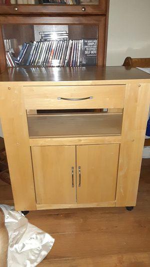 Kitchen storage utility cart for Sale in Homer Glen, IL