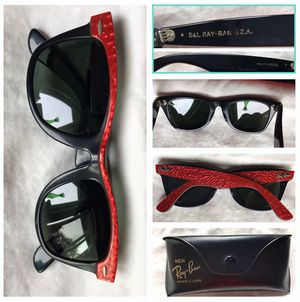 Vintage Ray Ban Raybans RayBan Street Neat Electric Red & Black, sunglasses for Sale in Perris, CA