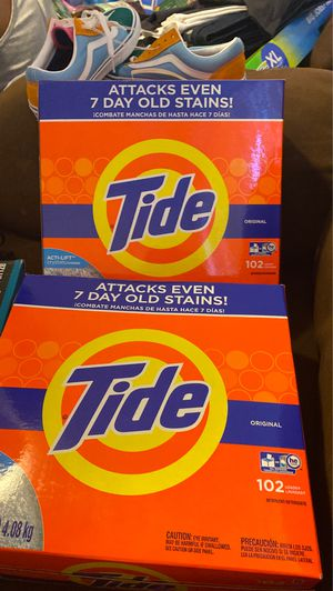 Two big tide $30 for both for Sale in Bakersfield, CA