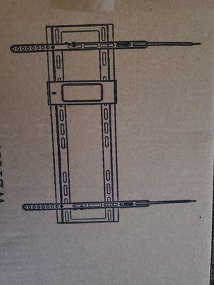 Tilt tv wall mount Hardware and instructions included for Sale in Plano, TX