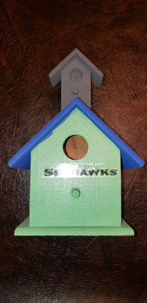 Cool little Birdhouse for the Seattle Seahawks Fan... for Sale in Kent, WA