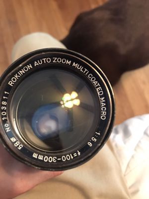 Rokinon Zoom lens for Sale in Woonsocket, RI