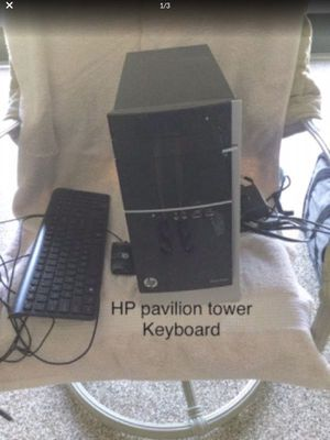 HP Pavillion 500-424 PC tower ,keyboard & mouse —No monitor. 2 TB, 8gb memory for Sale in Charleston, WV