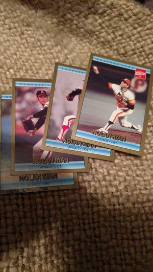 Coca-Cola Nolan Ryan 4 cards for Sale in Appomattox, VA