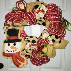 Homemade Christmas Wreath for Sale in Wake Forest, NC