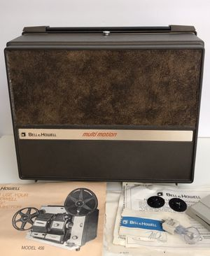 Bell & Howell super 8 & regular 8mm movie projector tested and ready to go for Sale in Lake Forest, CA