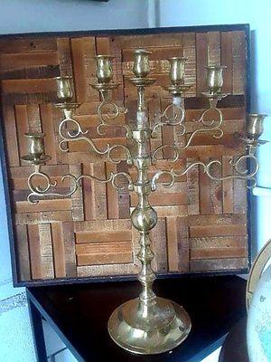 Vtg Brass 7 Light Candelabra for Sale in Vernon, CA