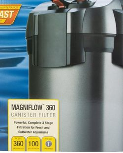 Marineland C360 Canister Filter for Sale in Silver Spring,  MD