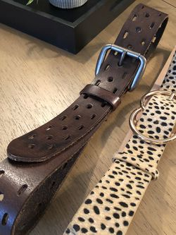 2 Women's Belts-fit small-medium for Sale in Cary,  NC