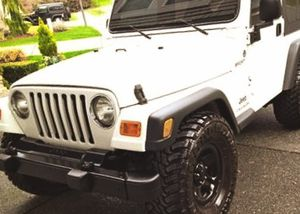 Without Accident Jeep Wrangler 2003 low PRICE for Sale in Detroit, MI