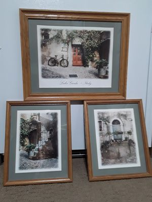 Framed Artwork - Italy for Sale in Kent, WA