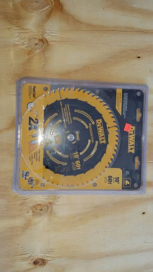 """dewalt 10"""" blade for miter saw or table saw for Sale in The Bronx, NY"""