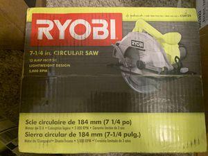 RYOBI circular saw for Sale in Bakersfield, CA