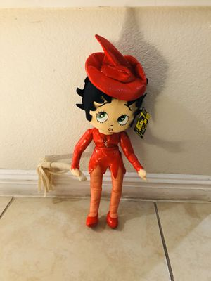 Betty Boop Stuffed Sexy Red Witch Rag Doll for Sale in Las Vegas, NV