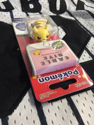 Official Pokémon pikachu cable bite japan exclusive for Sale in San Diego, CA