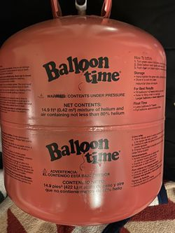 Empty Ballon Time Helium Tanks (X2) for Sale in Arvada,  CO