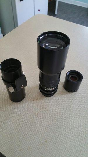 Lens Quantaray 500mm , See pic full description for Sale in Chicago, IL