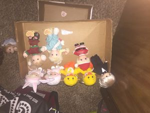 Original precious moments doll lot with original tags for Sale in Mount Vernon, IN