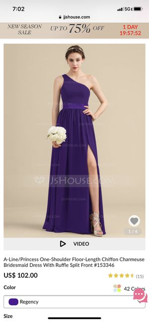 Regency Bridesmaid dress! Size 14 for Sale in Washington, DC