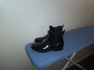 $25 SIZE11 WOMEN BLACK MICHAEL KORS RAIN BOOTS for Sale in Memphis, TN
