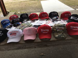 New Trump hats, flags wallets in!!! for Sale in Gulfport, MS