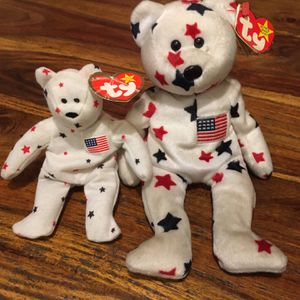2 TY Beanie Babies - Glory Bears. for Sale in Vancouver, WA