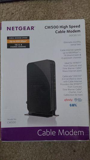 NETGEAR Cable Modem - CM500 for Sale in Rancho Cordova, CA