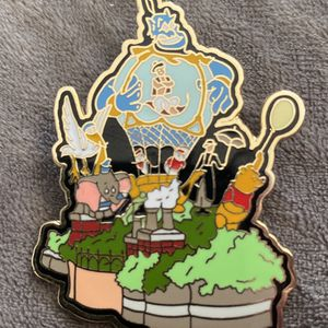 "Disney Pin #9186 - ""WDW Snow Globe Parade"" (Aladdin) for Sale in Maple Park, IL"