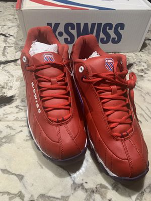 K-Swiss Red ST329 Heritage Sz. 10.5 for Sale in Washington, DC