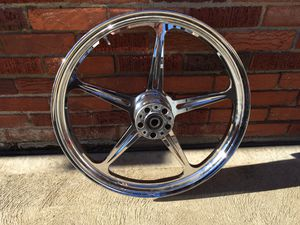 Custom front wheel for Harley Davidson 2.15x21 for Sale in Pittsburgh, PA