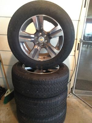$600 obo cheverolet rims in tires great condition for Sale in Frostproof, FL