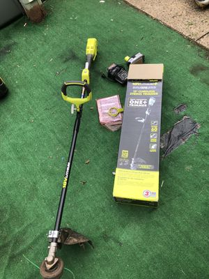 "Ryobi ONE+ 18V 13"" Cordless String Trimmer for Sale in Sterling, VA"