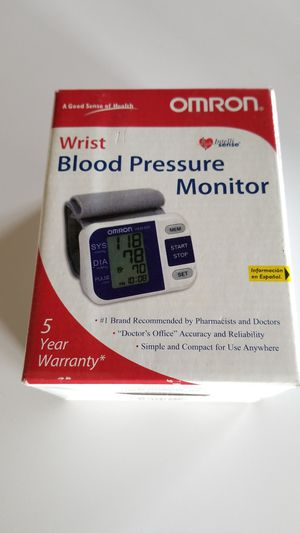 Omron wrist blood pressure monitor for Sale in Salem, OR