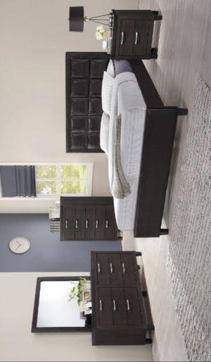 ♻️New♻️Chocolate Bar Walnut Panel Bedroom Set | B050 byGlobal for Sale in Jessup, MD