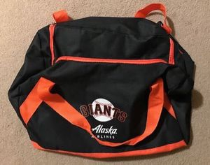 San Francisco Giants Alaska Airlines 2019 SGA Duffle Gym Bag for Sale in San Francisco, CA