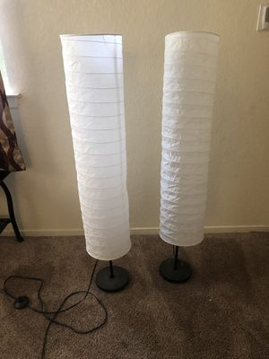 Floor lamps open box never used for Sale in Fresno, CA