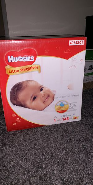Huggies pampers size 1 148 count for Sale in East Point, GA