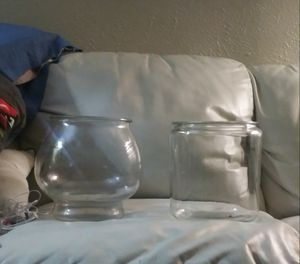 Glass decorative jars for Sale in Fort Worth, TX